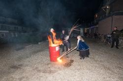 laatste avond en bacchus verbranden